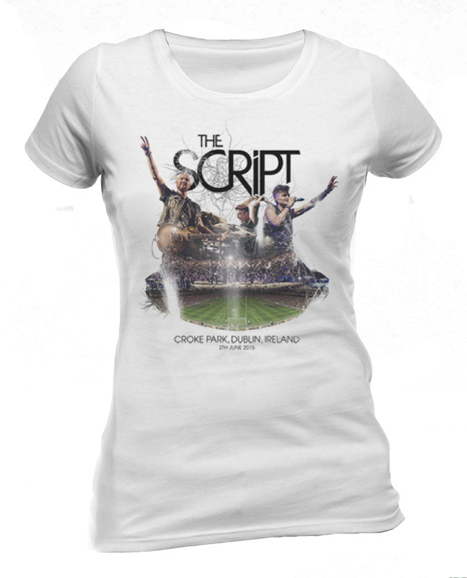 'Croke Park 2015 Event' Ladies White T-Shirt