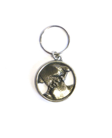 'No Sound Without Silence' Keyring
