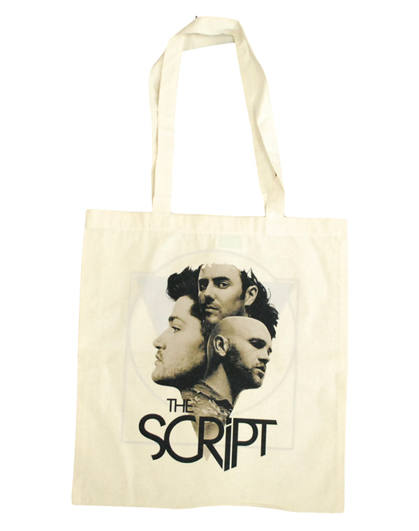 'Faces' Natural Shopper Bag