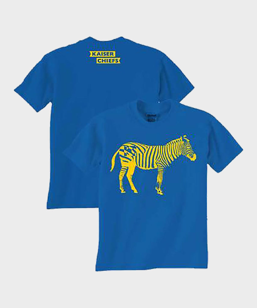 Zebra Blue Youth T-Shirt