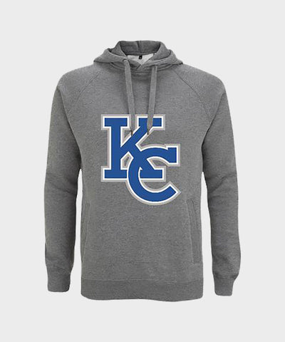 KC Logo Grey Pullover Hoodie