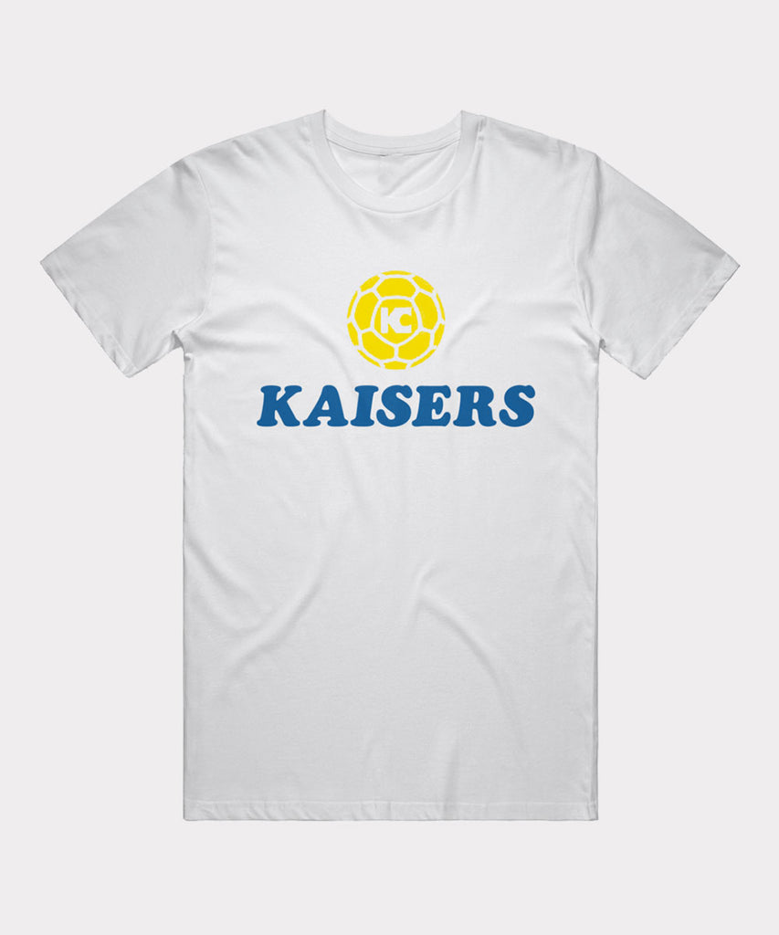 Kaisers Football Club White T-Shirt