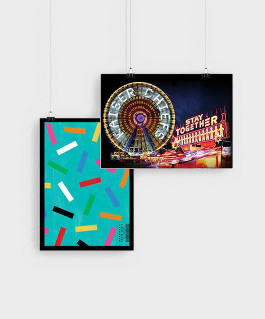 Fairground/Confetti Double Sided Poster