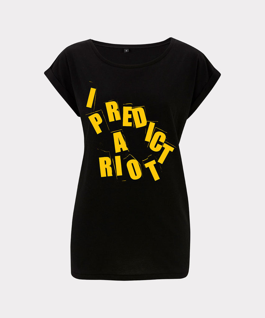 Riot Poison Pen Ladies T-shirt - Black