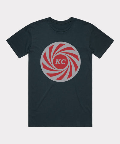 KC Swirl T-shirt - Navy