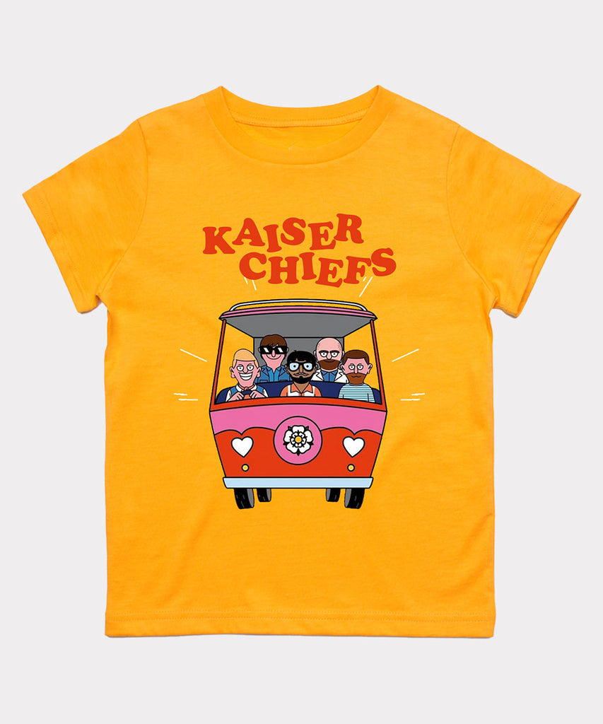 KC Camper Youth T-shirt - Yellow