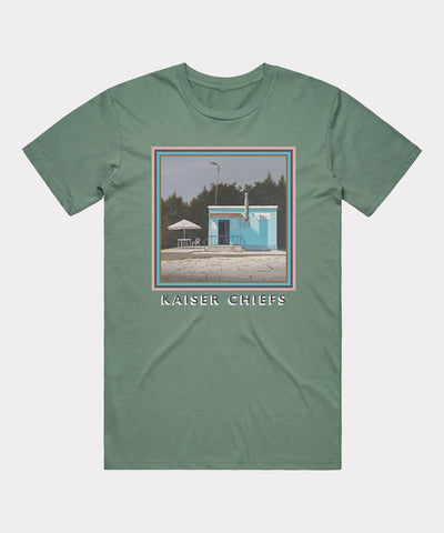 Duck Album T-shirt - Green