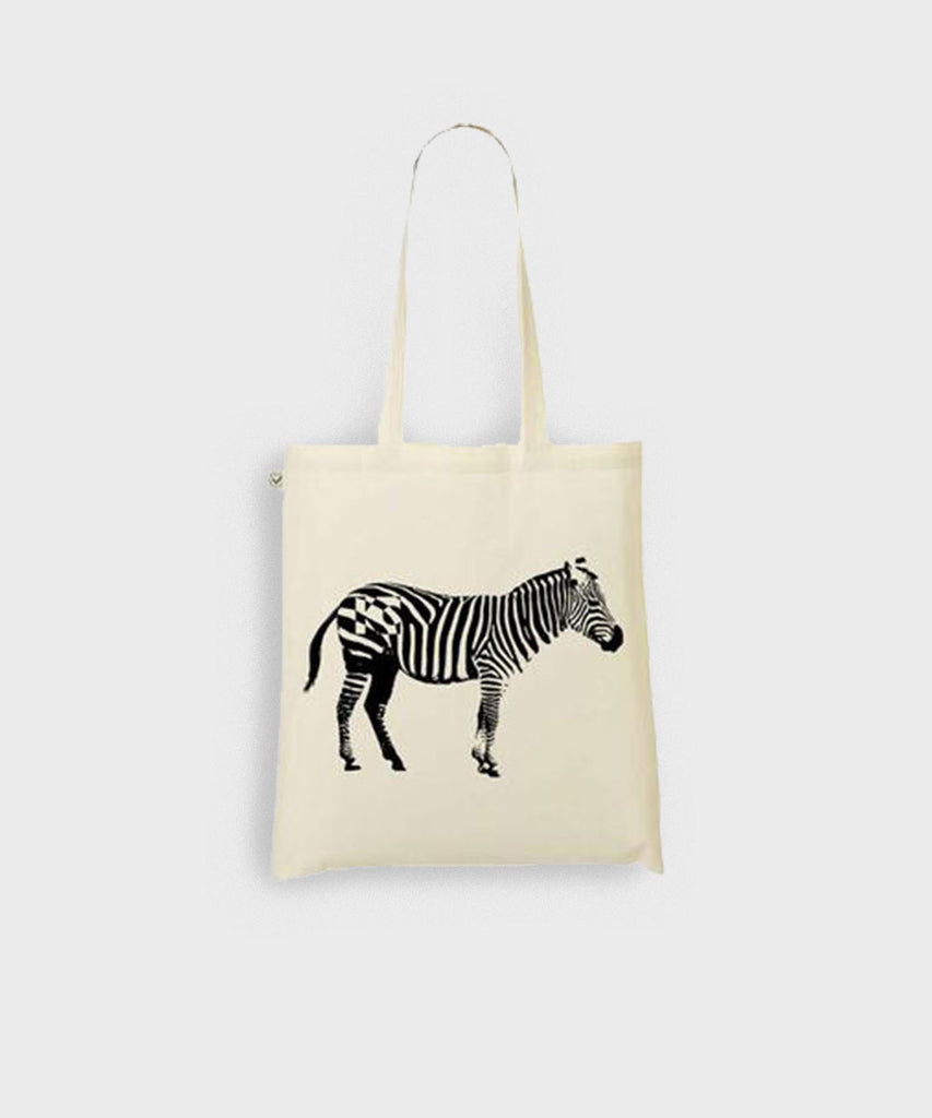 Zebra Shopper Bag
