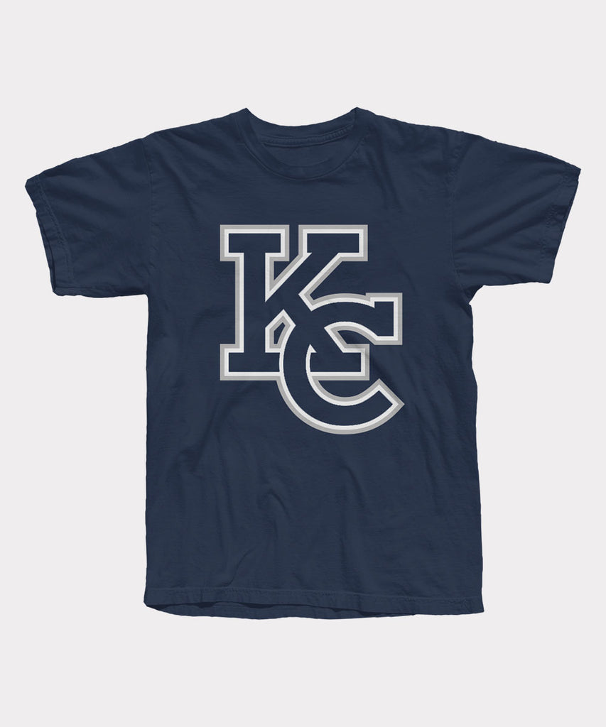 KC Logo Navy T-Shirt