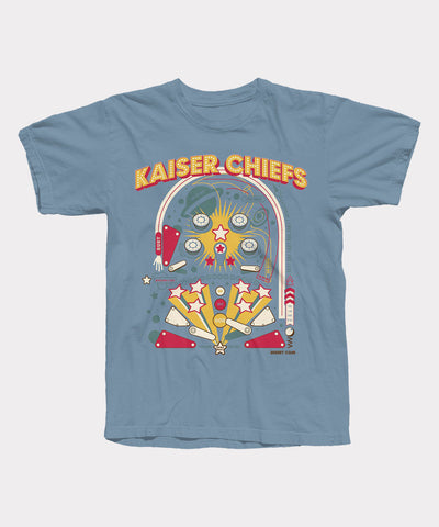 Pinball Blue Mens T-Shirt