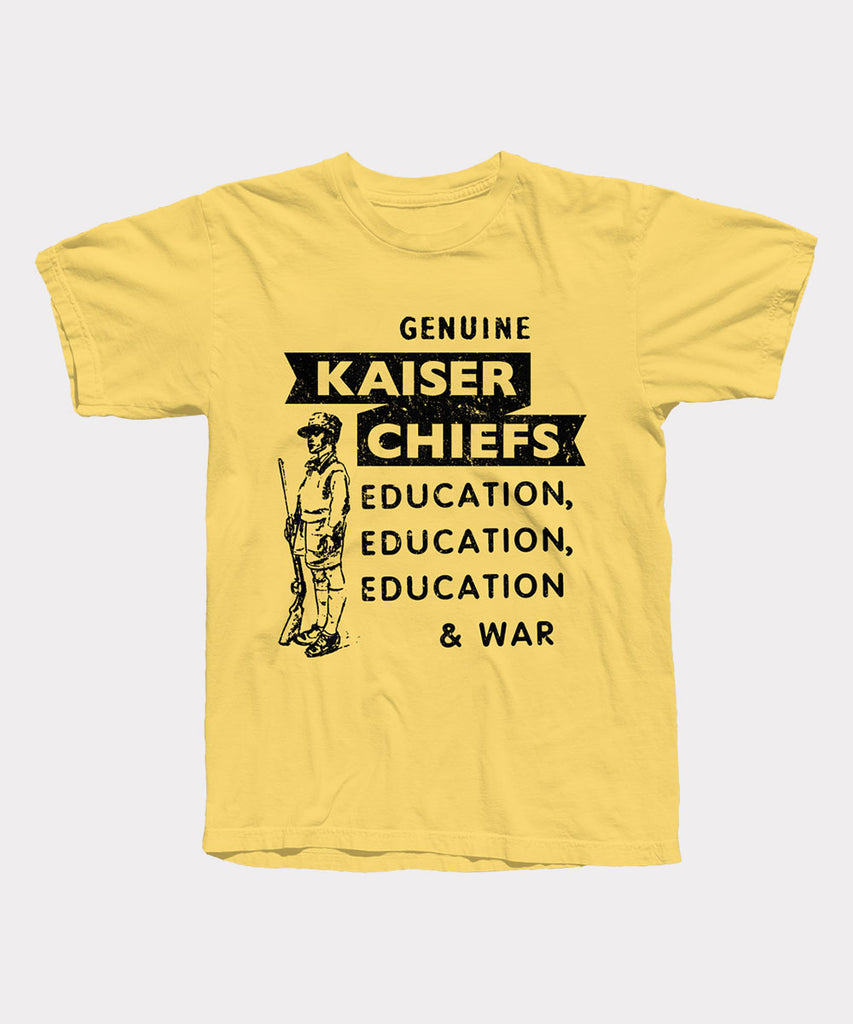 Education & War T-Shirt