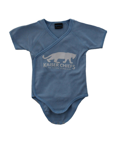 'Jaguar Babygrow ''Blue' ' Blue Baby Grow