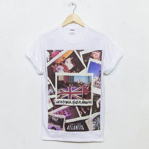 'Postcards''White'T-Shirt