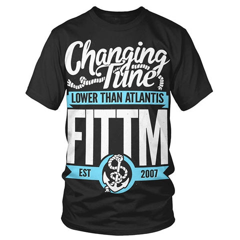 'Changing Tune' Black T-Shirt