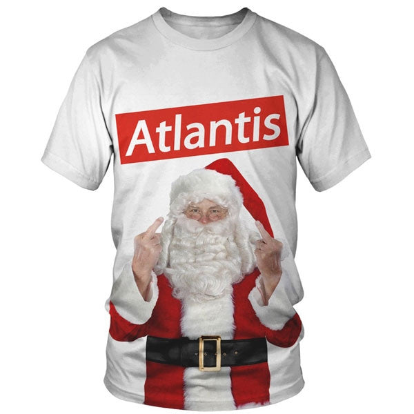 'Father Christmas' White T-Shirt