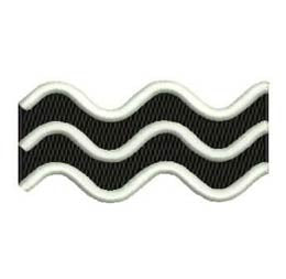 'Waves' Patch
