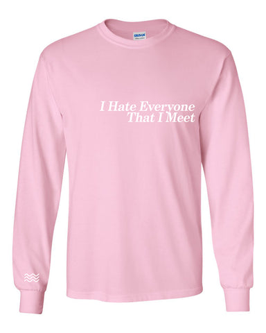 'Had Enough' Long Sleeve T-Shirt