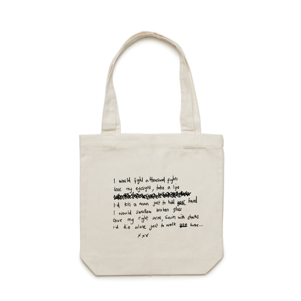 'I Would' Tote Bag