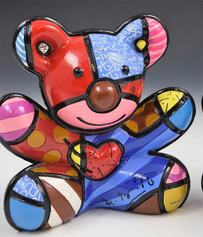 Romero Britto - Limited Edition Bear Sculpture