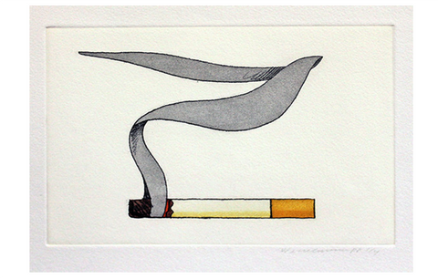 Tom Wesselmann - Smoking Cigarette