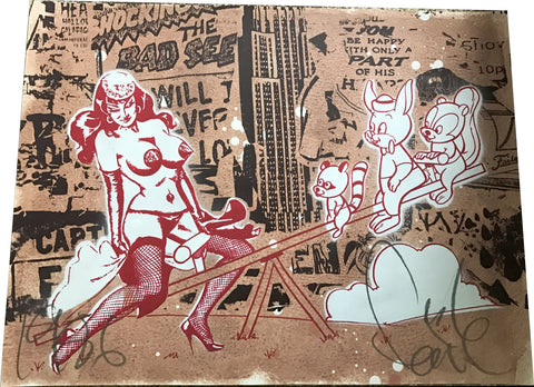 Faile - Pin up red