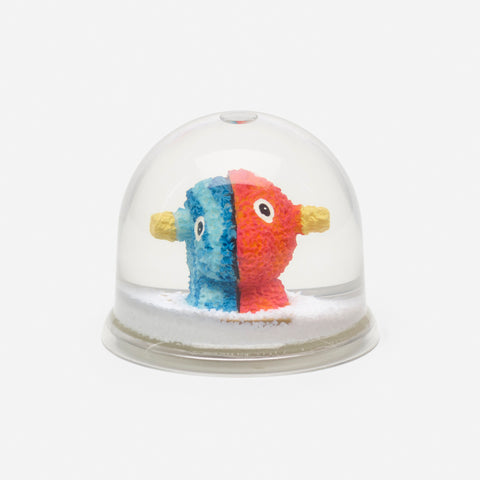 Jeff Koons - Split Rocker snow globe