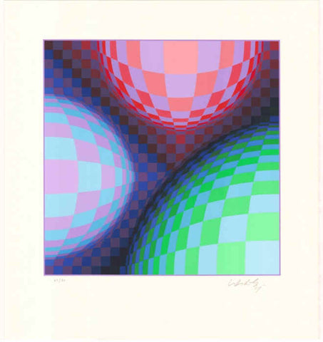 Victor Vasarely - Phoenix Constellation