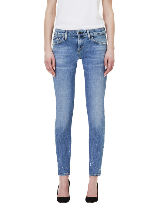 Racer Low-Rise Skinny in Rainfall