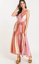 SALE Tie front Tiered Maxi Dress