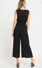 Smocked Waist Wide-Leg Jumpsuit