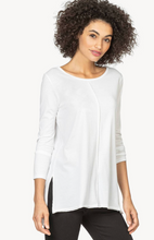 White 3/4 Sleeve Tunic
