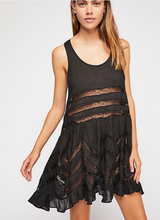 Lace Volie Trapeze Dress (More colors available!)