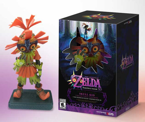 Legend of Zelda FIGURE Majoras Mask FIGURE 3D Limited-Edition Bundle
