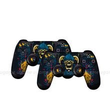 2016 NEW Custom Front Shell Decal Stickers Personalised Vinyl 2Pcs/lot FOR PLAYSTATION PS4 CONTROLLER SKINS Of 50 Designs Choice