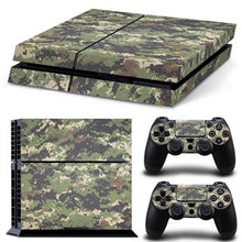 14 Styles Camouflage Decals For Sony PS4 Skin Console Stickers For Palystation 4 Controller Camo Covers For Play Station 4
