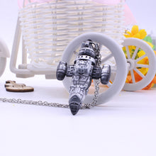 Fancy&Fantasy TV series Firefly Necklace Serenity Space Ship Model Silver Zinc Alloy Necklace Science Fiction Collection Jewelry
