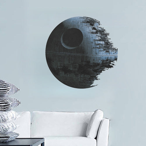 3d Planet Star wall stickers Star Wars home decoration diy Creative living room print decals mural art poster