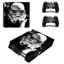 ARRKEO Star Wars Stormtrooper Vinyl Cover Decal PS4 Pro Skin Sticker for Sony PlayStation 4 Pro Console 2 Controllers Skins
