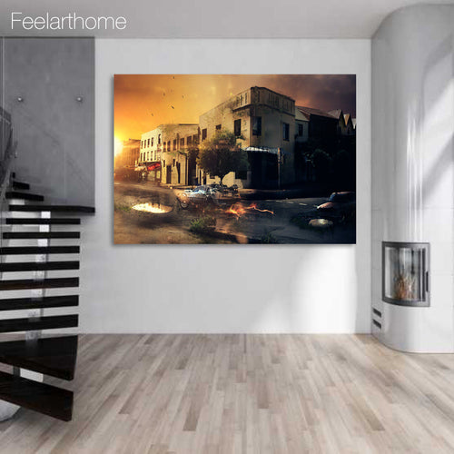 1 Panel Free shipping back to the future print painting on canvas Wall Art Picture Home Decoration/y-2325