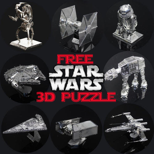 Star Wars 3D Metal Puzzle