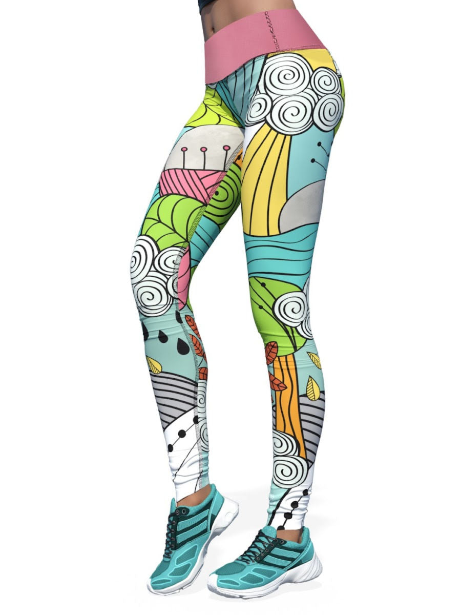 Women's Design by Liin Leggings | Seasons Beauty