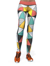 Women's Geometric Leggings | Geometric Shock