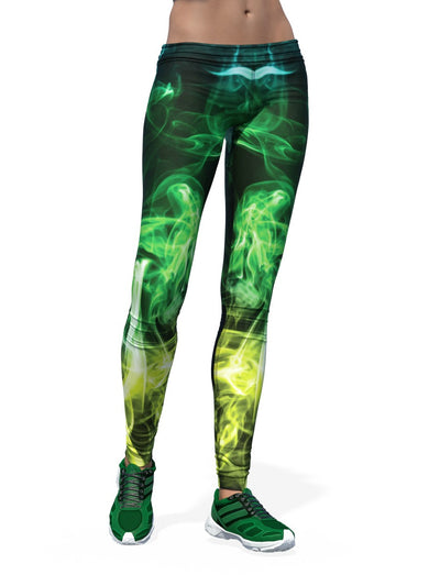 Women's Smoke Leggings | Green Smoke