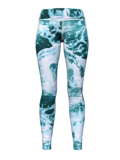 Women's Jake Wood Design Leggings | Sea Foam