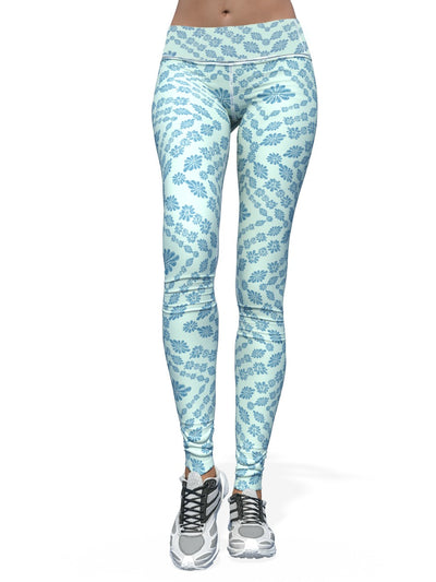 Women's Jake Wood Design Leggings | Ameebo Aztec