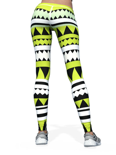 Women's Pattern Leggings | Lime Tribe