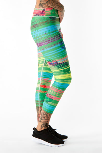 Women's Pineapple Leggings | Pine. Apple