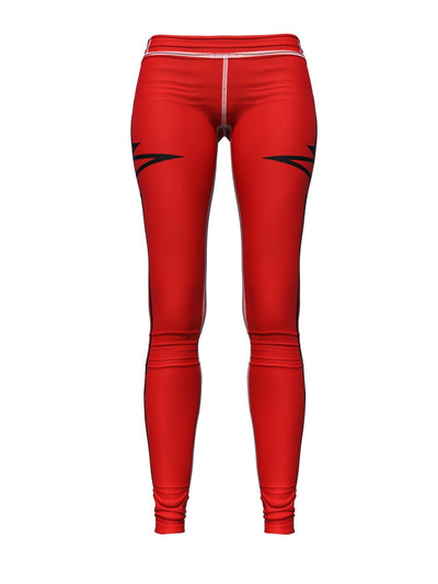 Women's Red Leggings | Beat It