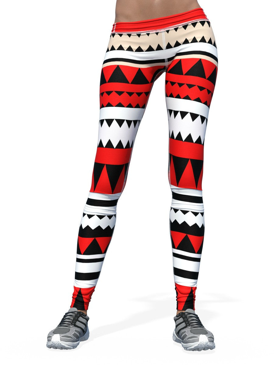 Women's Pattern Leggings | Red Tribe
