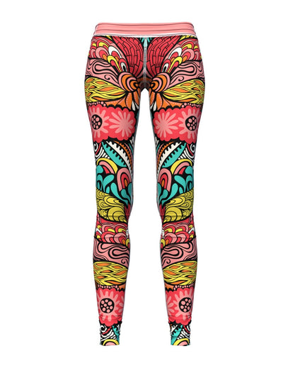 Women's Floral Leggings | The Rose Flowerologist